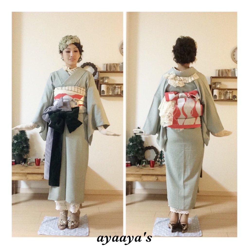 ayaaya's着物コーディネート