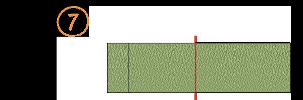 八寸袋名古屋帯-たたみ方7