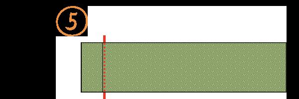 八寸袋名古屋帯-たたみ方5