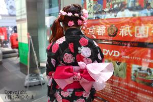 花の髪飾り裏