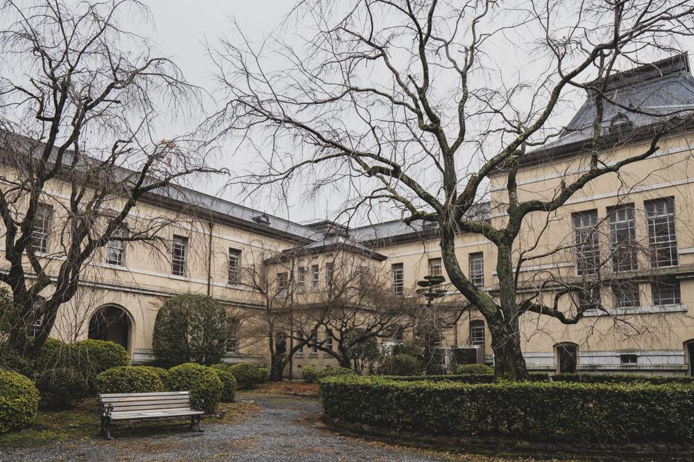 京都府庁・中庭の写真