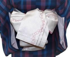 浴衣や町着に使える半幅帯の結び方