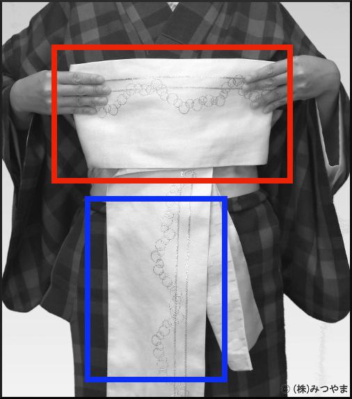 リボンの羽根の作り方・図解