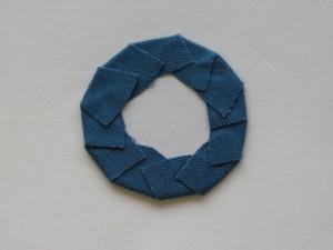 袋つまみ シューズクリップ 作り方26