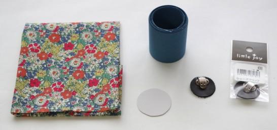 袋つまみ シューズクリップ 材料とパーツ1