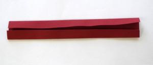 ヘアゴムの作り方・布の折り方2