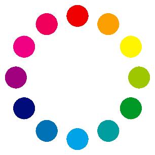 浴衣コーデにも使える色相環