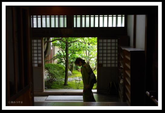 龍源院の玄関