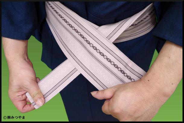 帯の結び部分の解説3