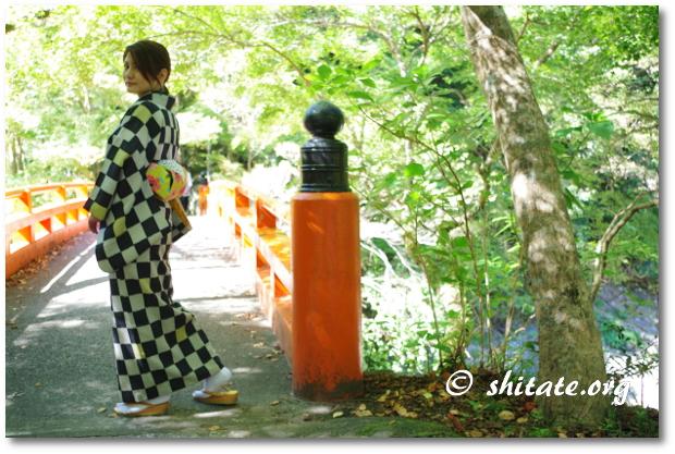 リサイクル着物と今風の帯コーデ