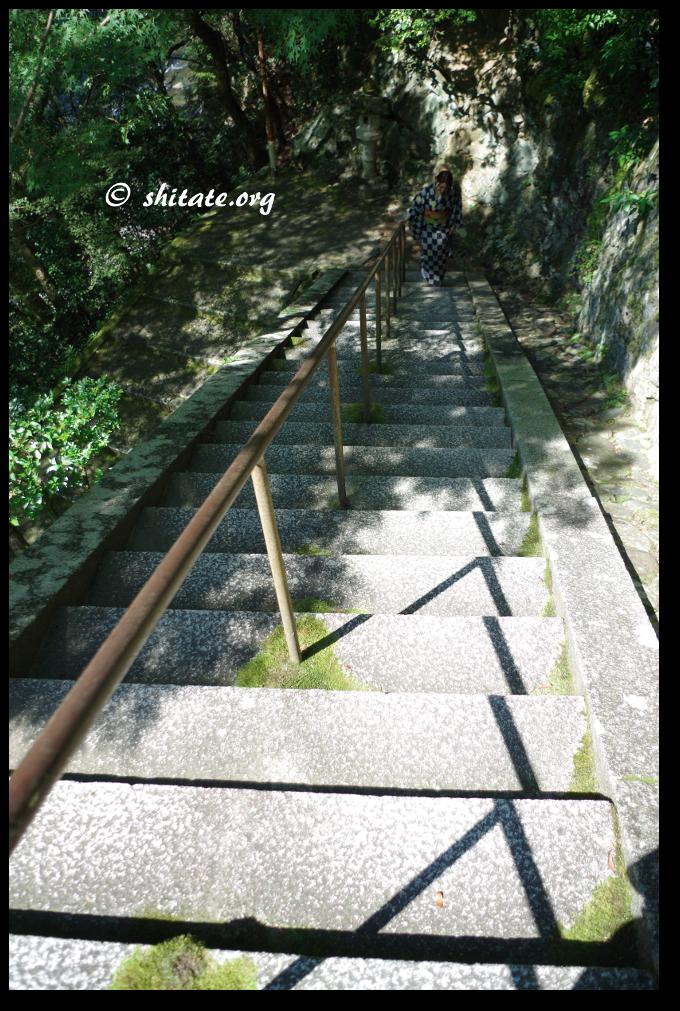 西明寺の階段
