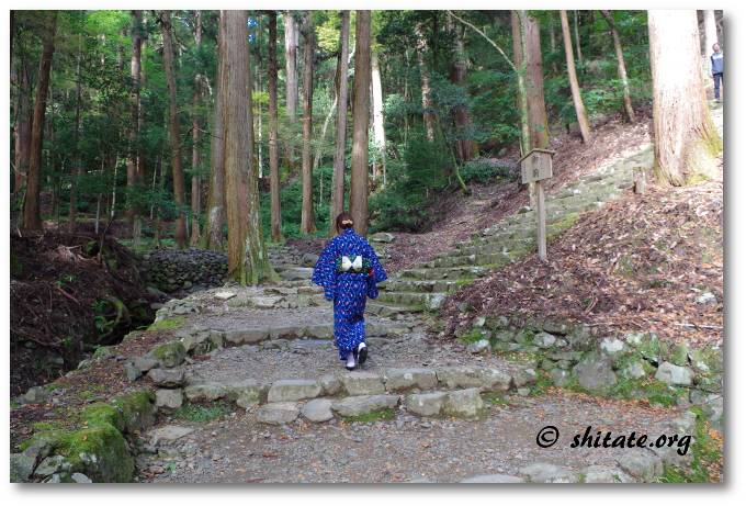 高山寺のキツイ階段3