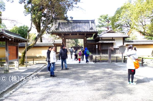 金閣寺観光風景