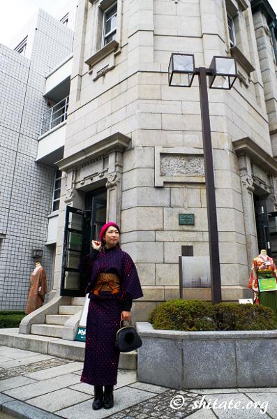 日本生命京都三条ビル&着物女子