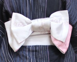 浴衣帯のリボン結び・アイキャッチ