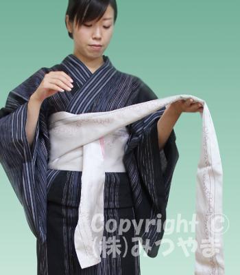 浴衣リボン結び 結ぶ1-3