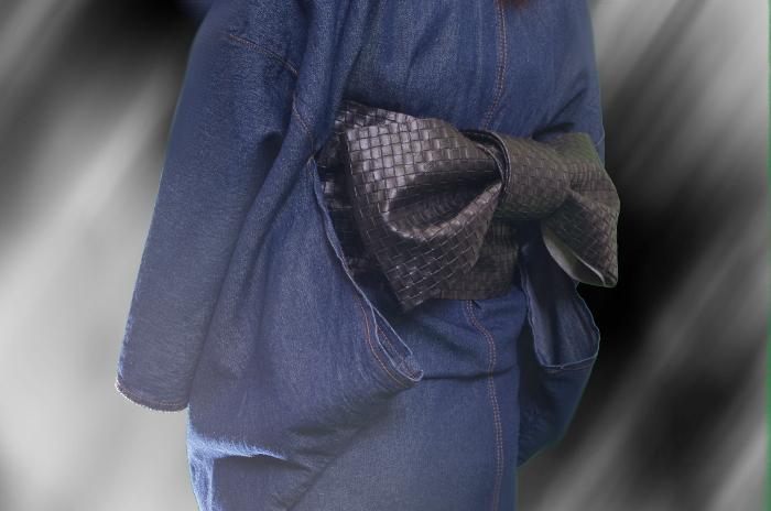 激安の合皮半巾帯