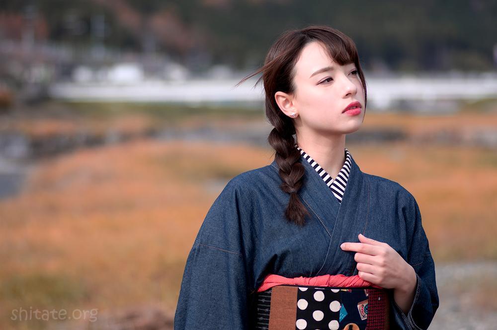 今宮戎神社の福娘・エリス梨亜奈さん4