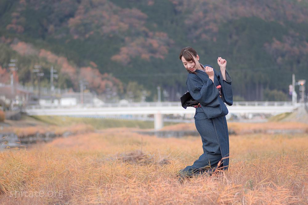 今宮戎神社の福娘・エリス梨亜奈さん2