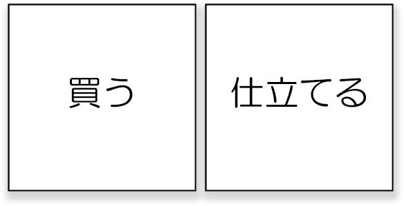 作り帯の注文方法は2種類あります