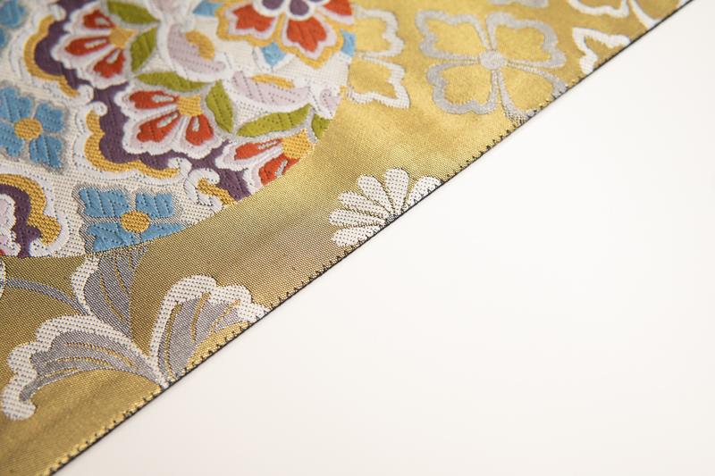 帯の仮仕立て・かがり縫い