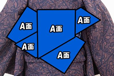 貝ノ口シリーズ(吉弥結び)の柄出し指定図