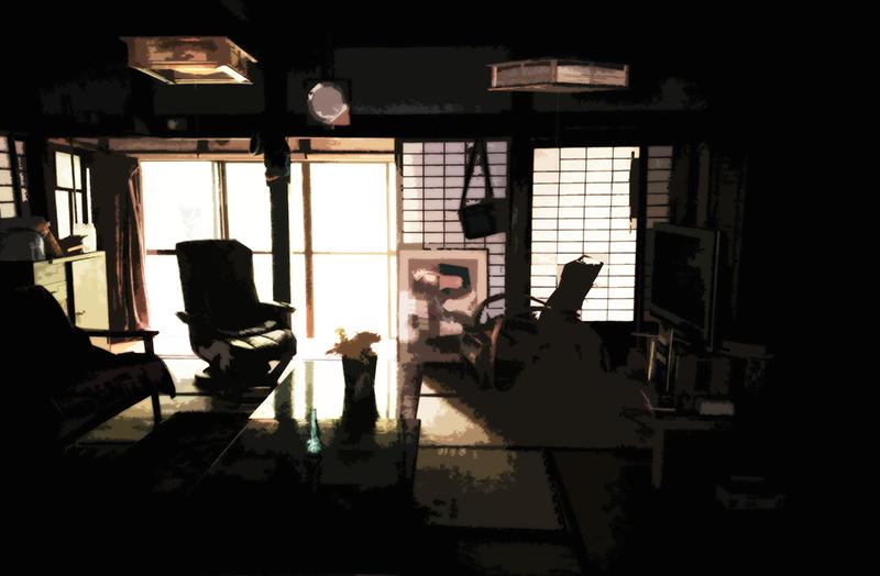 おばあちゃんの家の室内